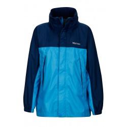 Boys PreCip NanoPro™ Jacket Mykonos blue Arctic navy