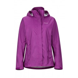 Wms PreCip NanoPro Jacket Bright ruby