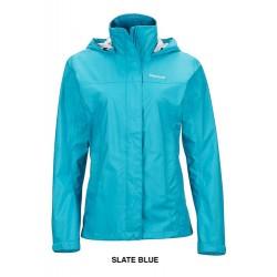 Jaka Wms PreCip NanoPro Jacket Slate blue