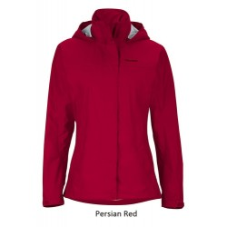 Jaka Wms PreCip NanoPro Jacket Persian red