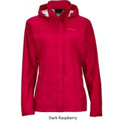 Jaka Wms PreCip NanoPro Jacket Dark raspberry