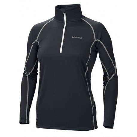 Wms ThermalClime Pro LS 1/2 Zip Black