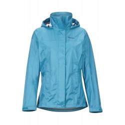 Jaka Wms PreCip Eco Jacket Enamel blue