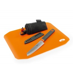 Rollup Cutting Board Knife Set