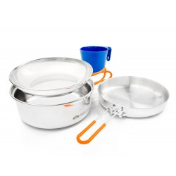 Trauku komplekts Glacier Stainless 1 Person Mess Kit