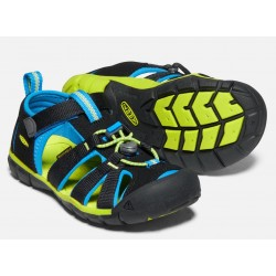 Sandales Seacamp II CNX Black/Brilliant Blue