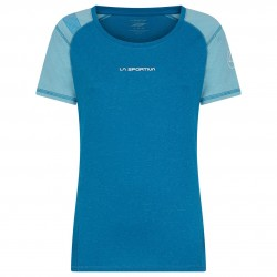 HYNOA T-Shirt W Neptune Pacific blue