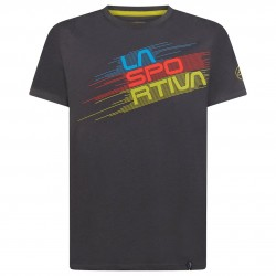STRIPE Evo T-Shirt M Carbon