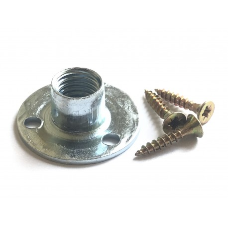 Zinc plated Round T-Nut