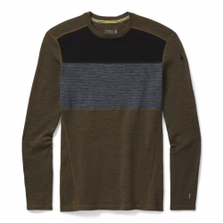 MS Merino 250 Baselayer Colorblock Crew