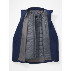 Minimalist Component Jacket Arctic navy Steel onyx