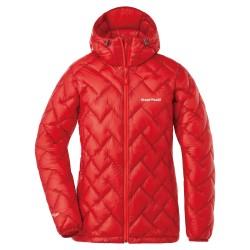 W PLASMA1000 Alpine Down Parka Red brick