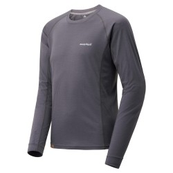 M MERINO Wool Plus Light LS Gray
