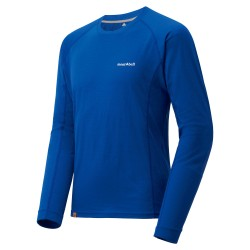M MERINO Wool Plus Light LS Primary Blue