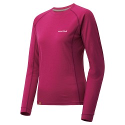W MERINO Wool Plus Light LS Fuchsia