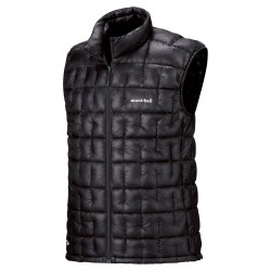 M PLASMA 1000 Down Vest Black