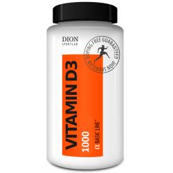 Vitamīni D3 1000, 60 kapsulas