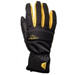 ALPINE Gloves Black Yellow
