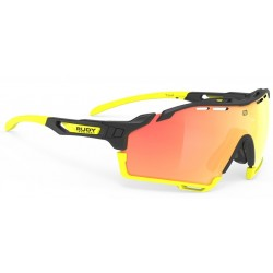 Brilles CUTLINE 3.kat BlackGloss Multilaser Orange