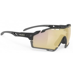 Brilles CUTLINE 3.kat BlackGloss Multilaser Gold
