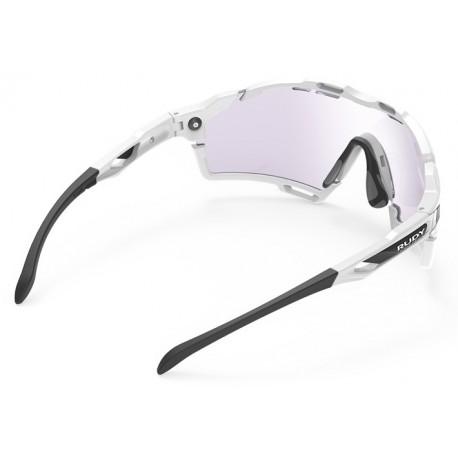 Brilles CUTLINE Photochomic 2 WhiteGloss Laser Purple