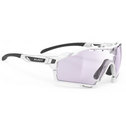 Brilles CUTLINE Photochomic 2 WhiteGloss Laser Purple