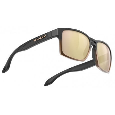 Brilles SPINAIR 57 3.kat Black Fade Bronze Mall Multilaser Gold