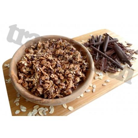 Tūristu pārtika Šokolādes musli ar pienu
