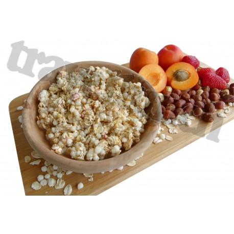 Tūristu pārtika Musli ar proteīnu