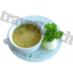 Tūristu pārtika Vistas zupa ar nūdelēm
