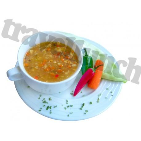 Tūristu pārtika Asā vistas zupa ar nūdelēm