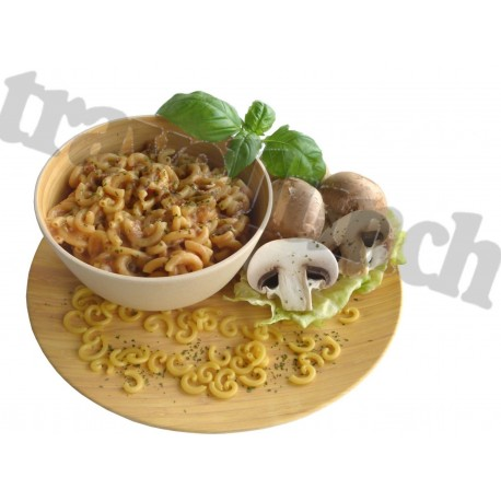 BEEF NOODLES AND MUSHROOMS