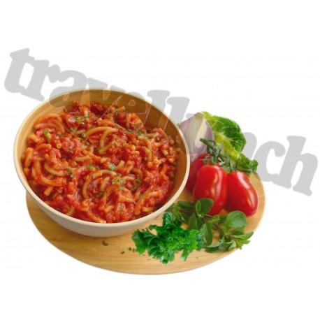 Tūristu pārtika PASTA BOLOGNESE with Beef