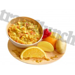 CARIBBEAN PATATOE with CHICHEN and SHRIMPS
