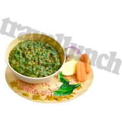 LENTILS CURRY DAL with SPINACH