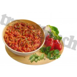 VEGGIE-BOLOGNESE with PASTA
