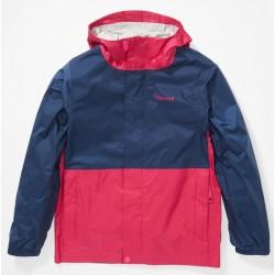 Jaka Kids PreCip Eco Jacket Very berry Arctic navy