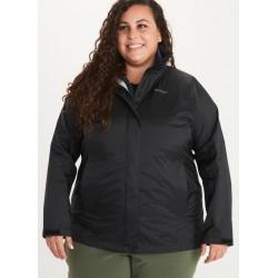 Jaka Wms PreCip Eco Jacket Plus Black
