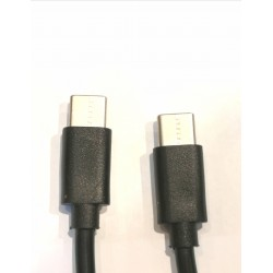 Kabelis USB Type C to C Charging cable, 20cm