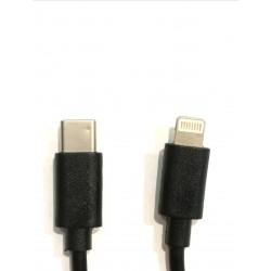 Kabelis USB Type C to Lightning Charging cable, 20cm
