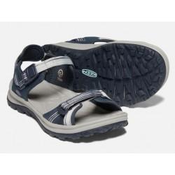 WS TERRADORA II Open Toe sandals Navy light blue