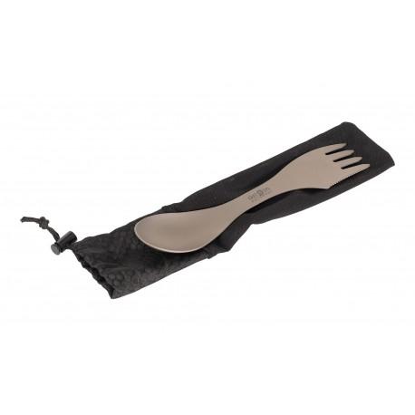 Ēdamrīks Cutlery Titanium Spork