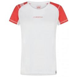 HYNOA T-Shirt W White Hibiscus