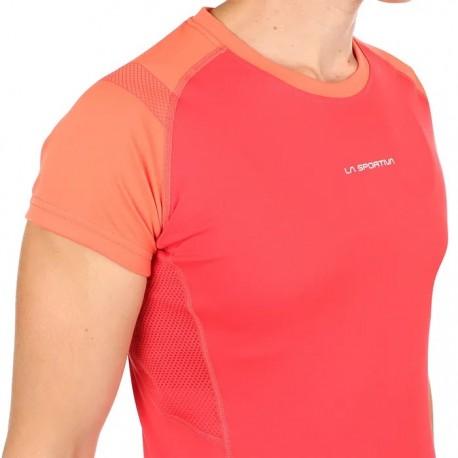 Krekls MOVE T-Shirt W Hibiscus Flamingo