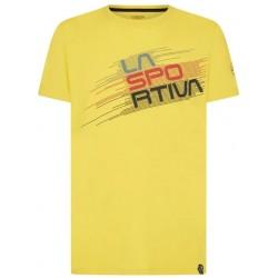 STRIPE Evo T-Shirt M Yellow