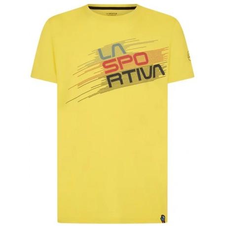 Krekls STRIPE Evo T-Shirt M Yellow