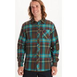 Anderson Lightweight flannel Dark brown