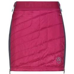 WARM UP Primaloft Skirt W Red plum Carbon