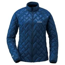 W PLASMA1000 Alpine Down Jacket Pure indigo