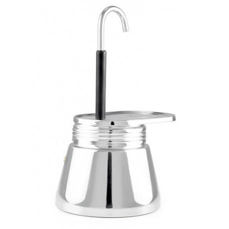 Kafijas aparāts 4 Cup Stainless Mini Expresso